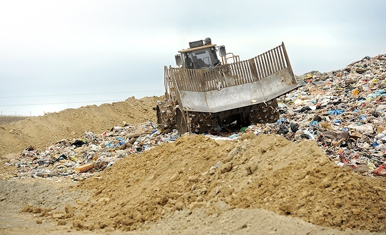 Landfill services at Texas Disposal Systems